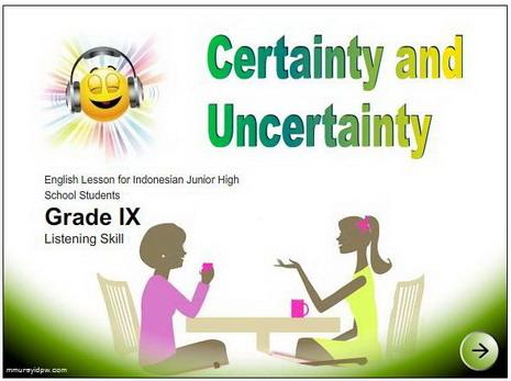 contoh percakapan expressing certainty contoh dialog certainty