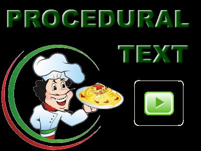 procedural text copy